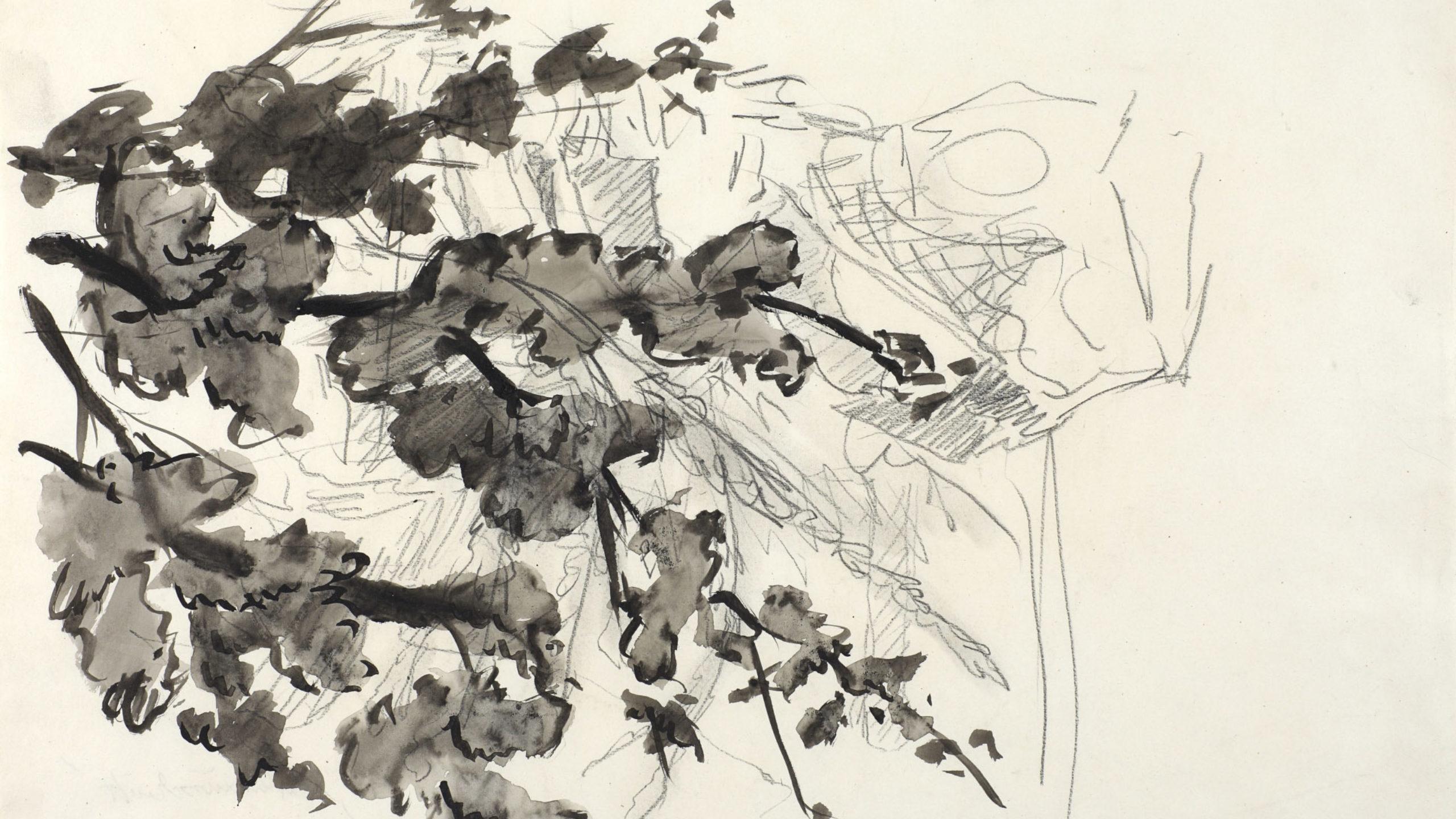 Baselitz Georg Gartenausschnitt 1971