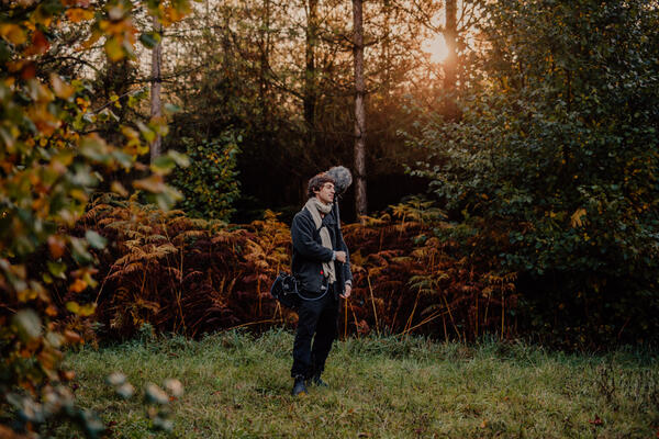 The earth has its music – Online-Session mit Cosmo Sheldrake