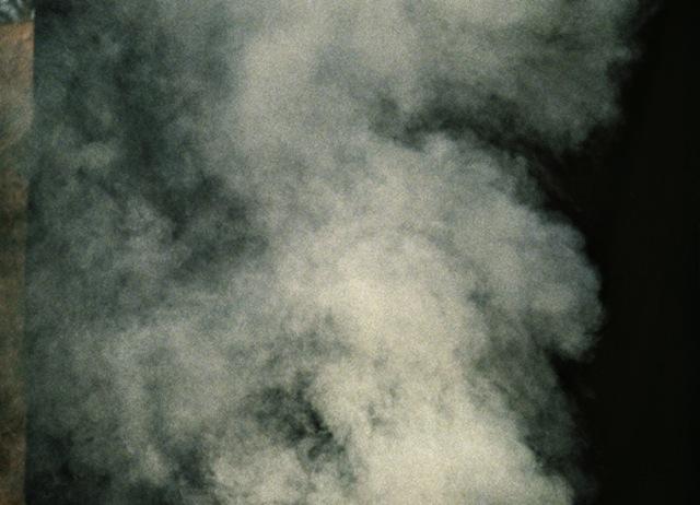 Aus der Serie Rauch: Rauch # 8
